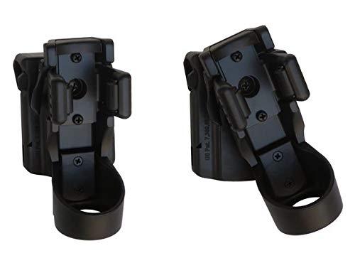 ESP LHU04-27-30-37 drehbares Kunststoffholster - 37mm für 21700er Taschenlampen