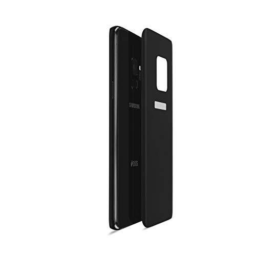 Artwizz CurvedBack Rückseiten Schutzglas Designed für [Galaxy S9] aus 100% Sicherheitsglas mit 9H Härte - Black