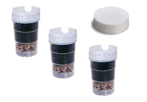 6-Monatspaket Filterkartuschen mit Microschwamm für Wasserfilter Acala Quell One/Swing/Sunny/Wasetto