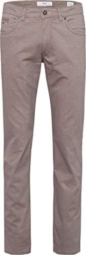 BRAX Herren Style Two Tone Five Pocket Flachgewebe Hose, BEIGE, 34W/32L