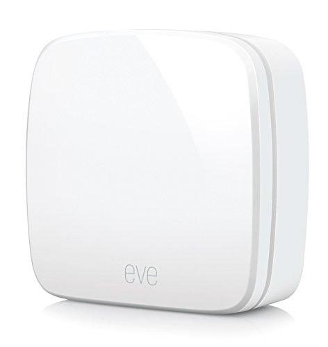 Eve Room - Sensor inalámbrico de interior con la tecnología Apple HomeKit, Bluetooth Low Energy, blanco