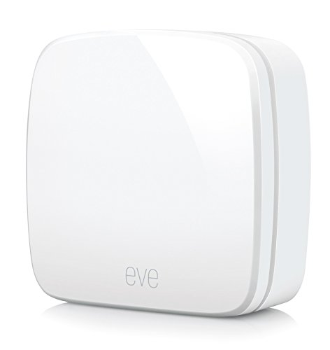 Eve Room – Smart binnenklimaatsensor met Apple HomeKit-ondersteuning, Bluetooth Low Energy, draadloos