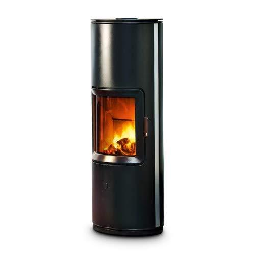 MCZ Kaminofen raumluftunabhängig STRIPE 7 kW Scheitholz Ofen Holzofen Verkleidung Stripe-7-schwarz