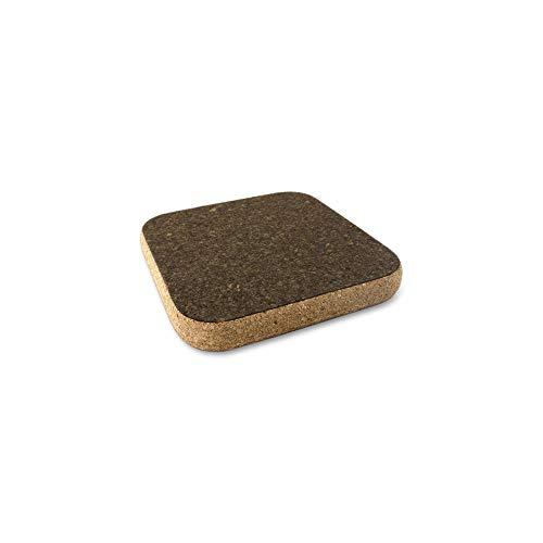 Cleverbrand Sottopentola di Sughero, Quadrato, 15 x 15 cm, Design: Sandwich