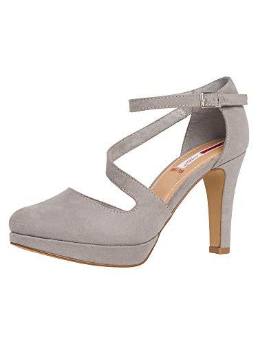 S. Oliver Shoes Woms Slip-on Größe 42 EU LT Grey