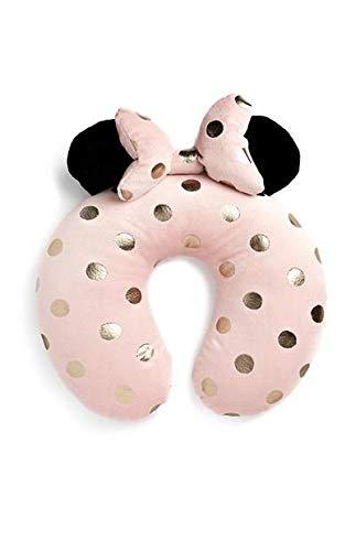 Disney Minnie Mouse Almohada de Viaje con Cuello de Lazo