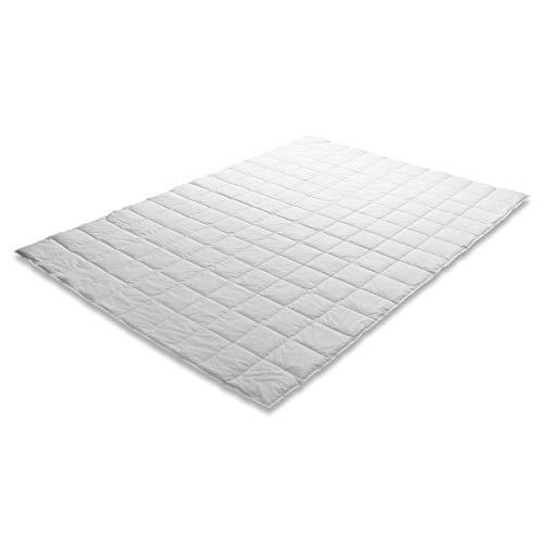 Traumschloss Sommernachtstraum Premium Daunenbett Bettdecke Weiß 155 x 220 cm