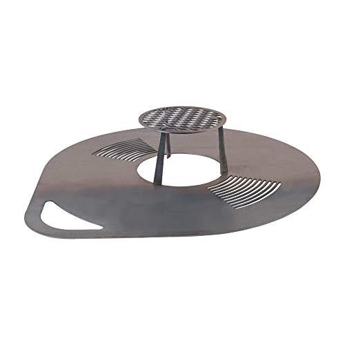 RM Design Placa de parrilla para barbacoa (80 cm de diámetro)