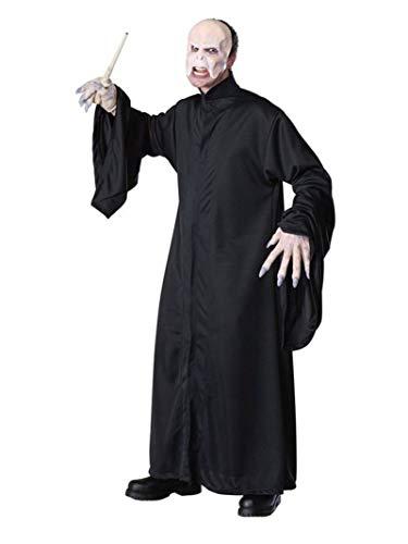 Rubie's offizielles Lord-Voldemort-Kostümaus Harry Potter für Erwachsene–Standardgröße.