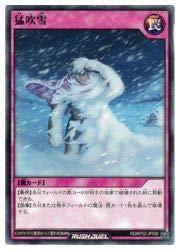 遊戯王 ラッシュデュエル ピ 猛吹雪(N)(RD/KP02-JP050)
