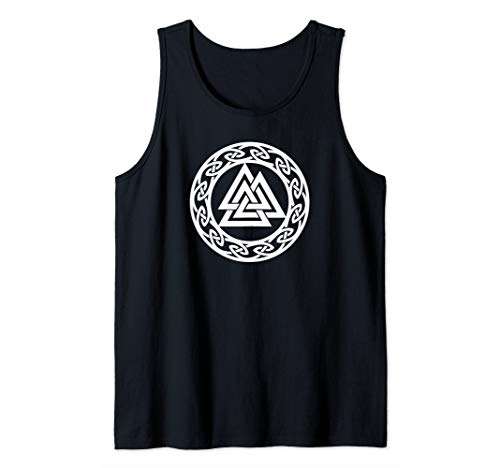Valknut, Odin, Celtic Knot, Viking, Norse, Nordic Mythology, Tank Top