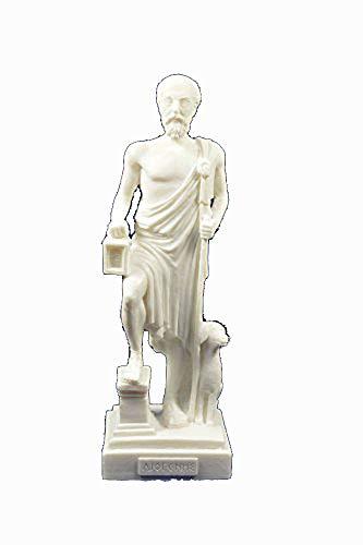 Estia Creations Diogenes - Figura de filósofo griego antigu
