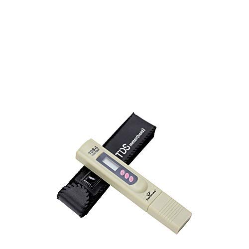 Thermocare Digital TDS Meter for Water Testing for Home and Professional Use (Off White)