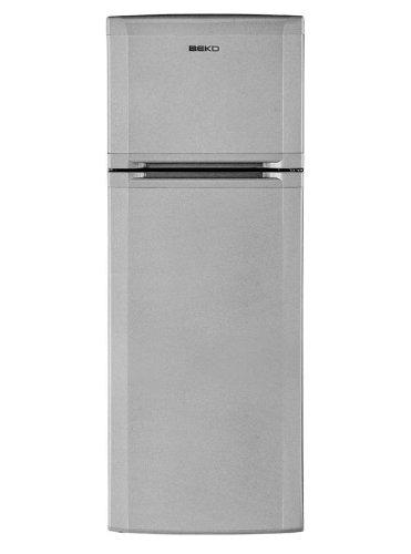 Beko DSE25020X Autonome 224L A+ Argent réfrigérateur-congélateur - Réfrigérateurs-congélateurs (224 L, 39 dB, 3 kg/24h, A+, Argent)