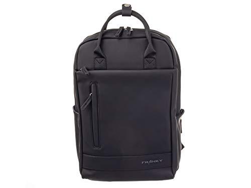 Franky Businessrucksack Freizeitrucksack Daypack Unisex RS62-schwarz