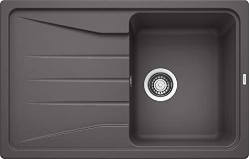 BLANCO Sona 45 S, Küchenspüle, Silgranit Puradur, felsgrau, reversibel, 1 Stück, 519663