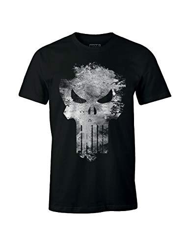 T-Shirt The Punisher Marvel - Punisher Distress Skull