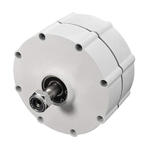 Aerogenerador de Eje Vertical 6000W 12V 24V 48 Volt DIY 3 Fase PMSG PMSG Turbinas eléctricas sin escobillas Generador Generador de imán Permanente Motor alternador Aerogeneradores (Voltage : 48V)