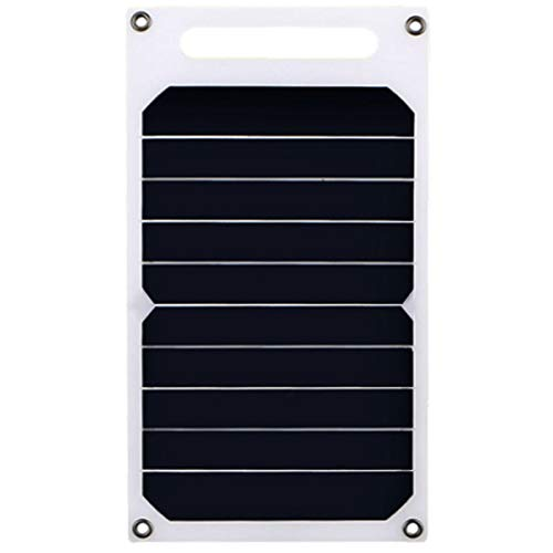 RanDal 10W 5V Solar Panel Solar Charger Portable Inventory Solar Emergency Charger