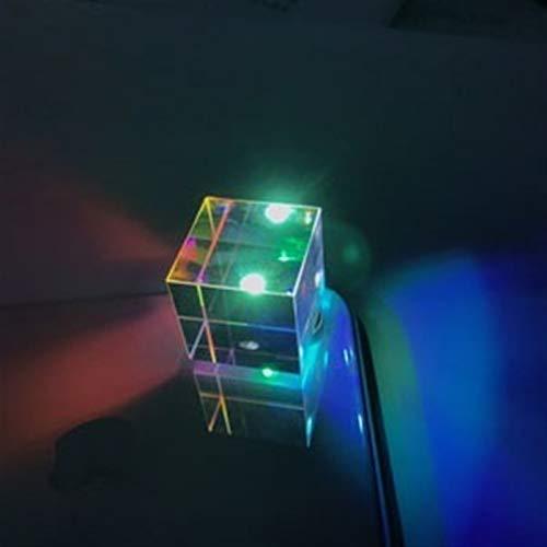 XBF-TOOL, Novia 1pc 26 mm cúbico del Cubo de Ciencia Óptica Prisma Fotografía con hexaedras Prisma decoración del hogar del Prisma