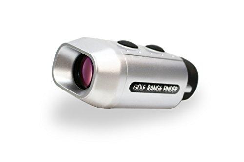 Telémetro para golf Posma GF200, de bolsillo, digital, con zum 7x, medidor de distancia, magnificación, alcance para golf, mide en yardas y metros, con funda gratuita