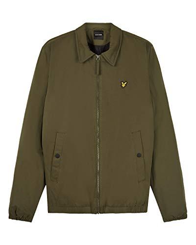 Lyle & Scott Wadded Harrington Jacket - Green - Giacca Mezza Stagione Uomo Verde (s)