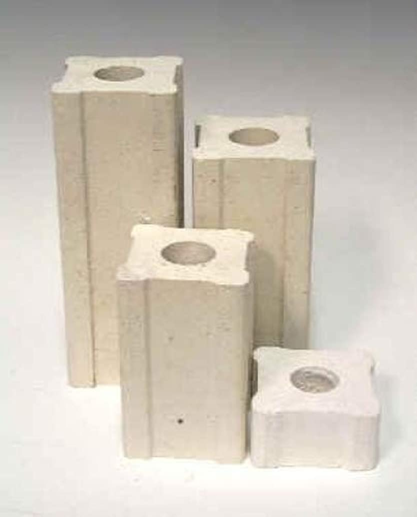 1 Inch x 1 Inch Kiln Posts - Set of 4