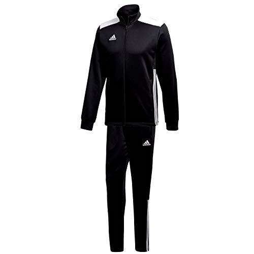 adidas Herren Polyesteranzug Regista 18 Black/White L