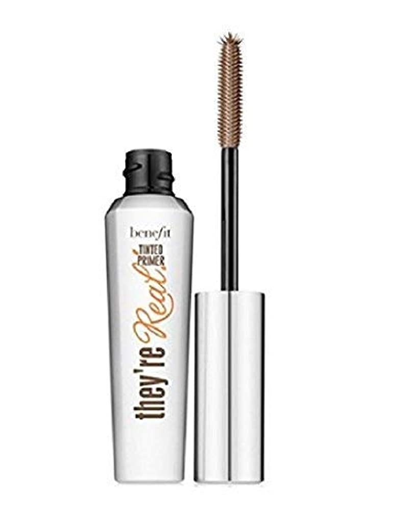 予言する一元化する成長するBenefit Cosmetics They're Real Tinted Eyelash Primer Travel Size - 0.14 oz [並行輸入品]