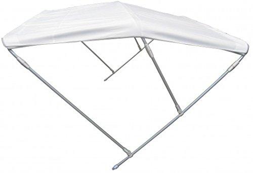 Prowake Bimini-Top, Sonnendach/Verdeck für Schlauchboote, Bootsverdeck, Sonnenverdeck, Schlauchboot-Sonnenschutz (150 cm Breit)