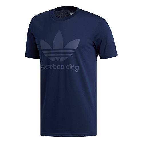 Adidas T-Shirt Clima 3.0 Collegiate Blu Scuro-Trace Blu (S, Blu Scuro)