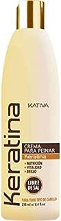 Kativa Keratina Crema de peinar para Nutrición, suavidad y