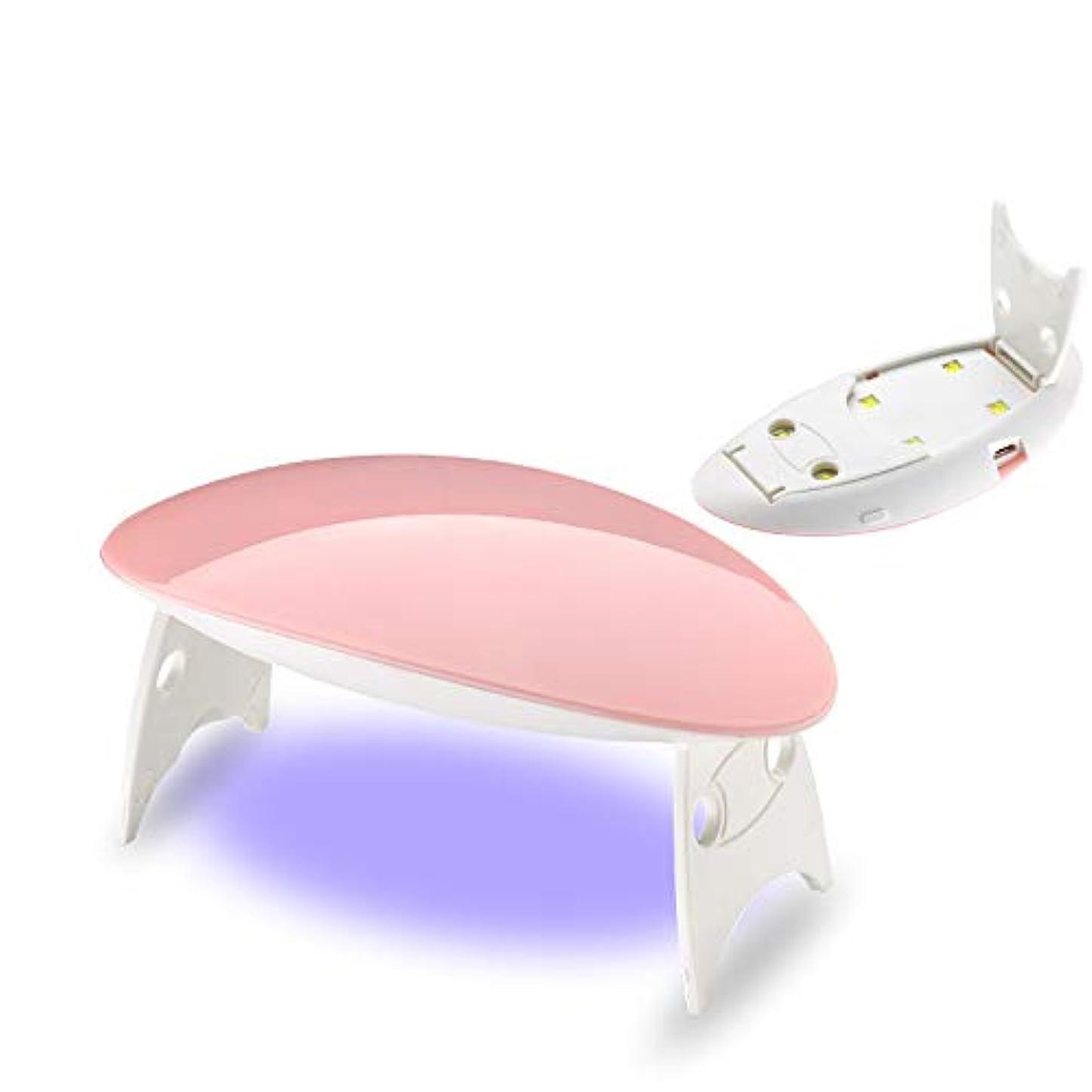 カフェジャケット開示する12W ホワイト ネイルドライヤー ネイルデザイン ネイルライト 硬化用ライト ネイルアートツール ピンク