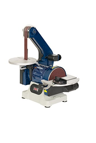 RIKON Power Tools 50-151 Belt with 5' Disc Sander, 1' x 30', Blue