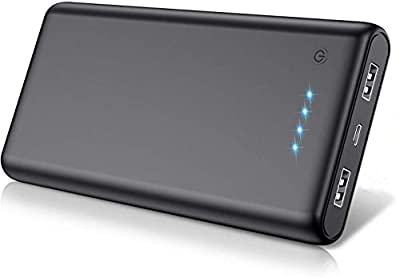 QTshinee Power Bank, [26800mAh] Portable Charger Battery Pack, High Capacity Power Pack Ultra Compact Charger Bank Fast Charging with 4 LED Lights for Smartphone, Tablet and More