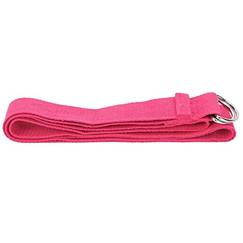 Cuerda para tirar de yoga, bandas de resistencia, bandas elásticas para ejercicio, cinturón para ejercicio y fisioterapia para mujer(Rosa)
