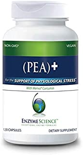 Enzyme Science (Pea)+, 120 Capsules – All-Natural Meriva Curcumin – Supplement for Physiological Support – Helps Support N...