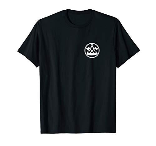 Zimmerer / Zimmermann   Zunftzeichen Auf Der Brust   T-Shirt