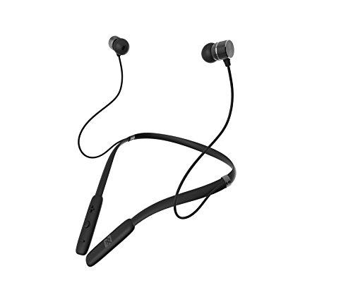 iFrogz Audio - FLEX FORCE Wireless Bluetooth Neckband Earbuds - Black