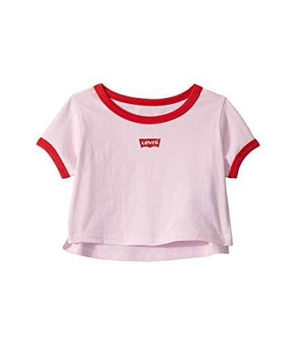 Pink Kids Ringer T-Shirt - 9