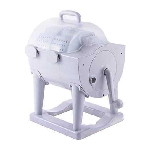 NNHDWS Hogar Portátil Multifuncional Tipo De Tambor, 2-En-1 Mini Lavadora Y Secarropas,...