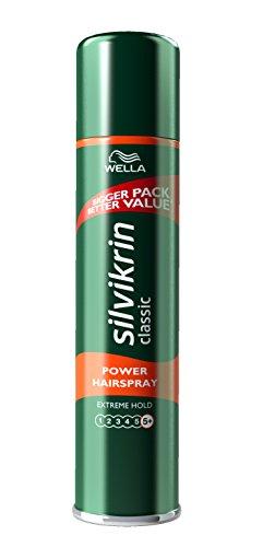 WELLA Silvikrin Hairspray Mega Hold, 400 ml