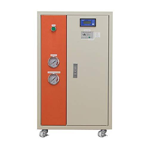 Equipo de agua ultra pura de laboratorio, equipo de agua desionizada de laboratorio, máquina de agua desionizada con pantalla de conductividad
