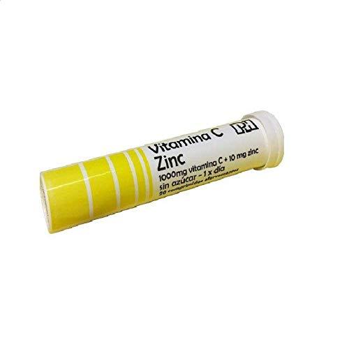 Vitamina c efervescente 1 g pharminicio 20 comprimidos