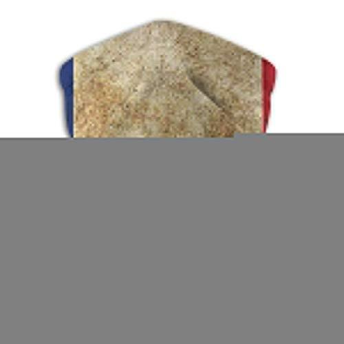 Lawenp Passamontagna con bandiera di Parigi Sciarpa fascia da donna Bandana da uomo, silenziatore, scaldacollo, Magic, Hatliner Sweatband nero