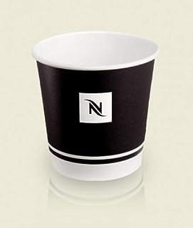 Nespresso Espresso Disposable Paper Cups, 175ml, 6oz - 55 count 4oz Black N7QXSPS