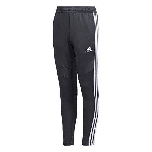 adidas Kids' Youth Tiro19, Dark Grey/White, Medium