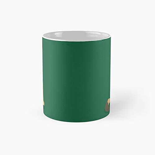 Meh-rry Taza clsica de pastor de Navidad   El mejor regalo divertidas tazas de caf de 325 ml