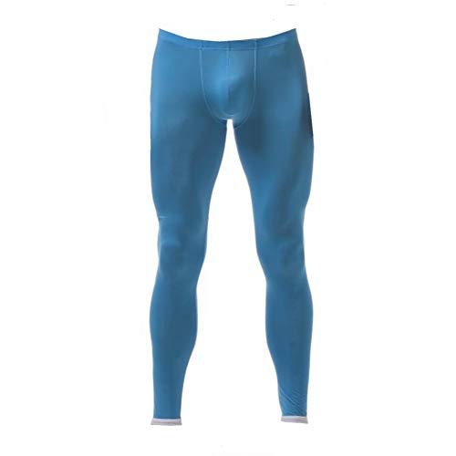 wear2me Men's Heathy Navy Soft Warm Long Jongs Underwear Lingerie for Autumn XL