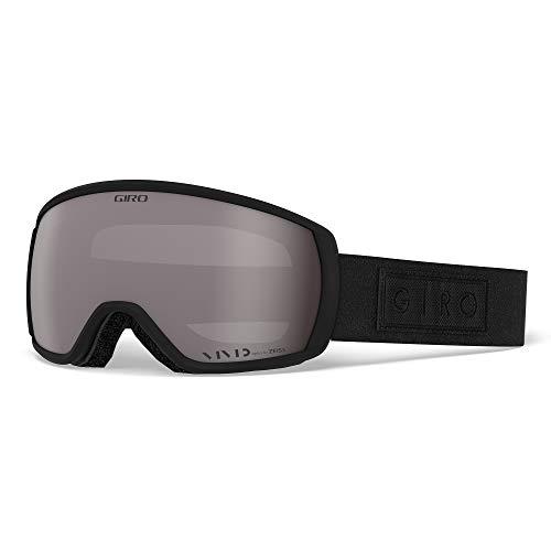 Giro Balance Masque de Ski Mixte, Black Bar - Vivid Onyx Lens, Medium Frame